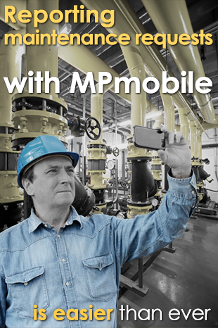 Send maintenance requests to MP from your mobile device