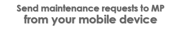 Send maintenance requests to CMMS - MP from your mobile device